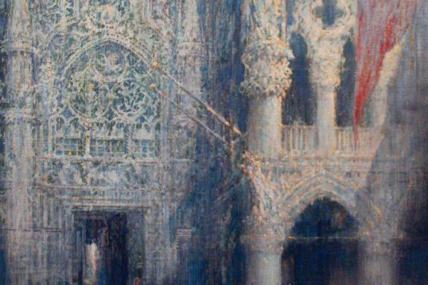 Porta Della Carta, Venice. George Wharton Edwards. 1927